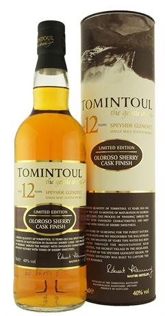 Tomintoul Scotch Single Malt Aged 12 Years Oloroso Cask Finish